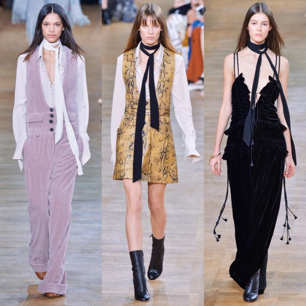 Fall 2015 Fashion Trends - Skinny Scarves