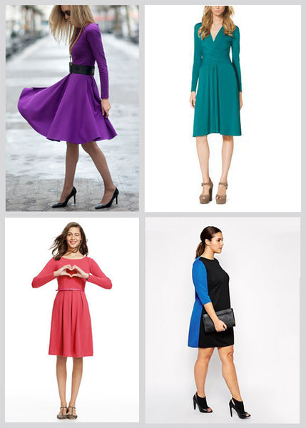 Cute Winter Dresses - Bright Winter Dresses