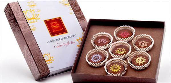 Gifts for Yoga Lovers: Chakra Chocolate Box