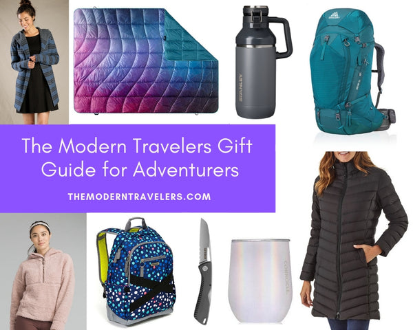 Gift Guide for modern traveler adventurers