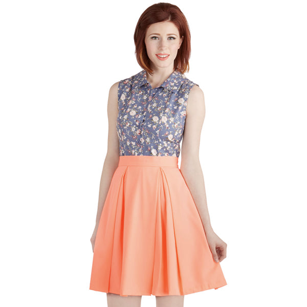 Spring Clothing - One Bright Skirt