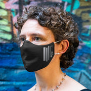 Breathable Face Mask 2-pack (including 1 w/ reflective stripes)