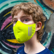 Kid's Breathable Face Mask 2-pack (including 1 w/ reflective stripes)