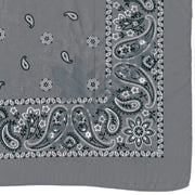Po Campo Reflective Bandana in Grey