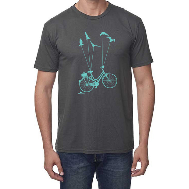 Bike & Be Free T-shirt - Unisex