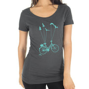 Bike & Be Free T-shirt - Women's