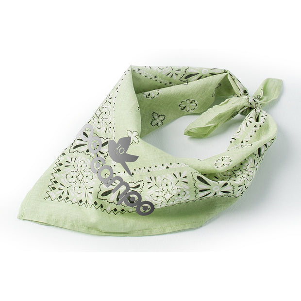 Po Campo Reflective Bandana in Mint