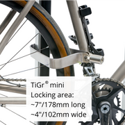 TiGr mini Ulock with reinforced mounting clip by TiGr Lock - Po Campo