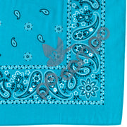Po Campo Reflective Bandana in Turquoise