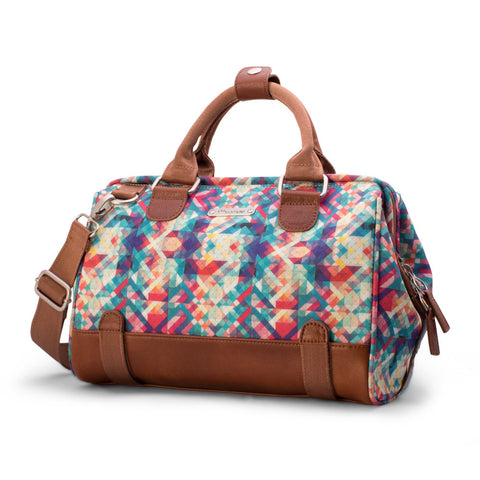 Po Campo Uptown Trunk Bag Bike Satchel in Mosaic