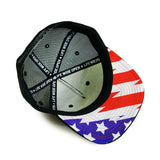 Hat - Black Stars and Stripes