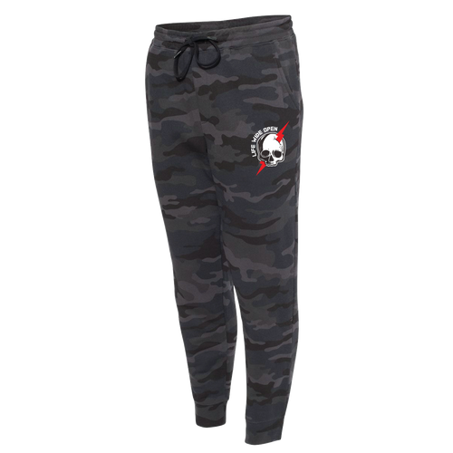 Joggers - Bolted Black Camo