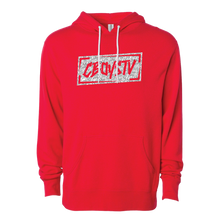 Load image into Gallery viewer, Hoodie - Scatterbrain RED