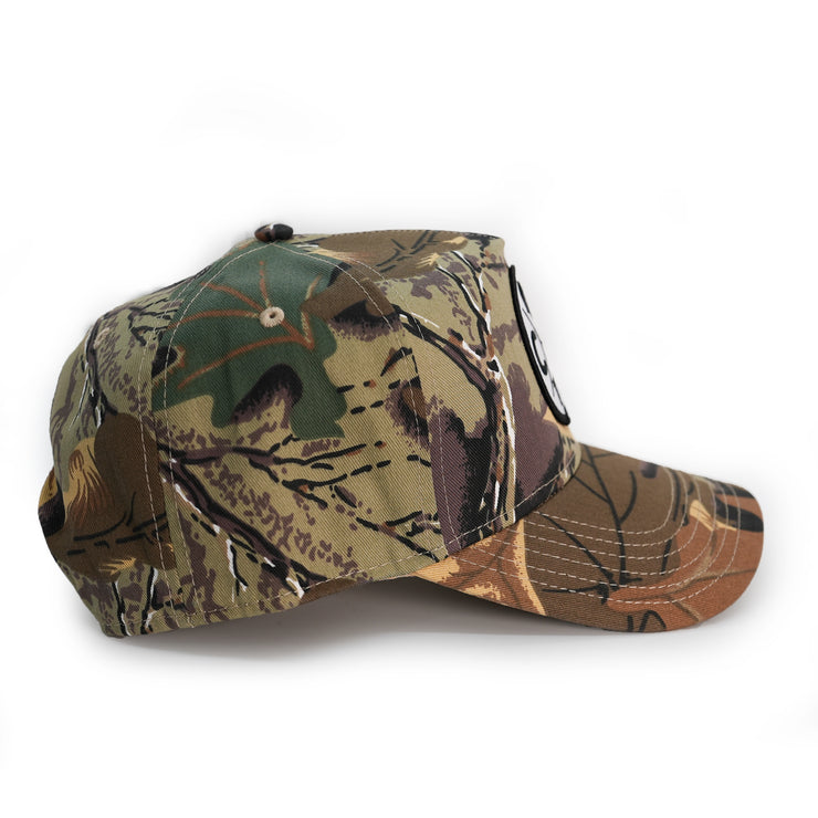 Vintage Camo Patch Hat