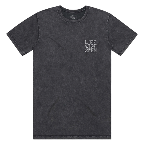 T-shirt - Stonewash LWO Embroidered