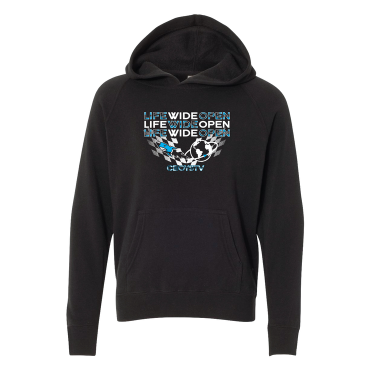 Youth Hoodie - LWO Checkers