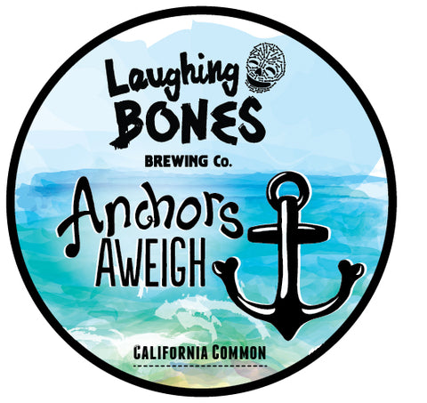 Anchors Aweigh California Common Lager by Laughing Bones Brewing Co