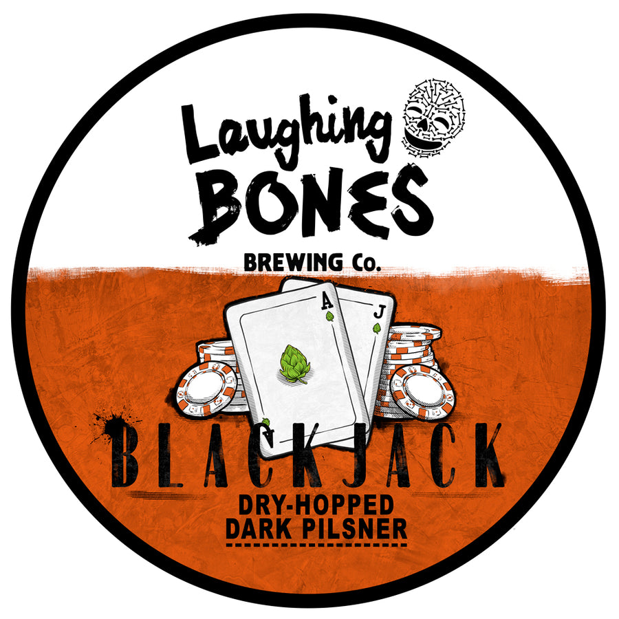 Black Jack Dry-Hopped Dark Pilsner