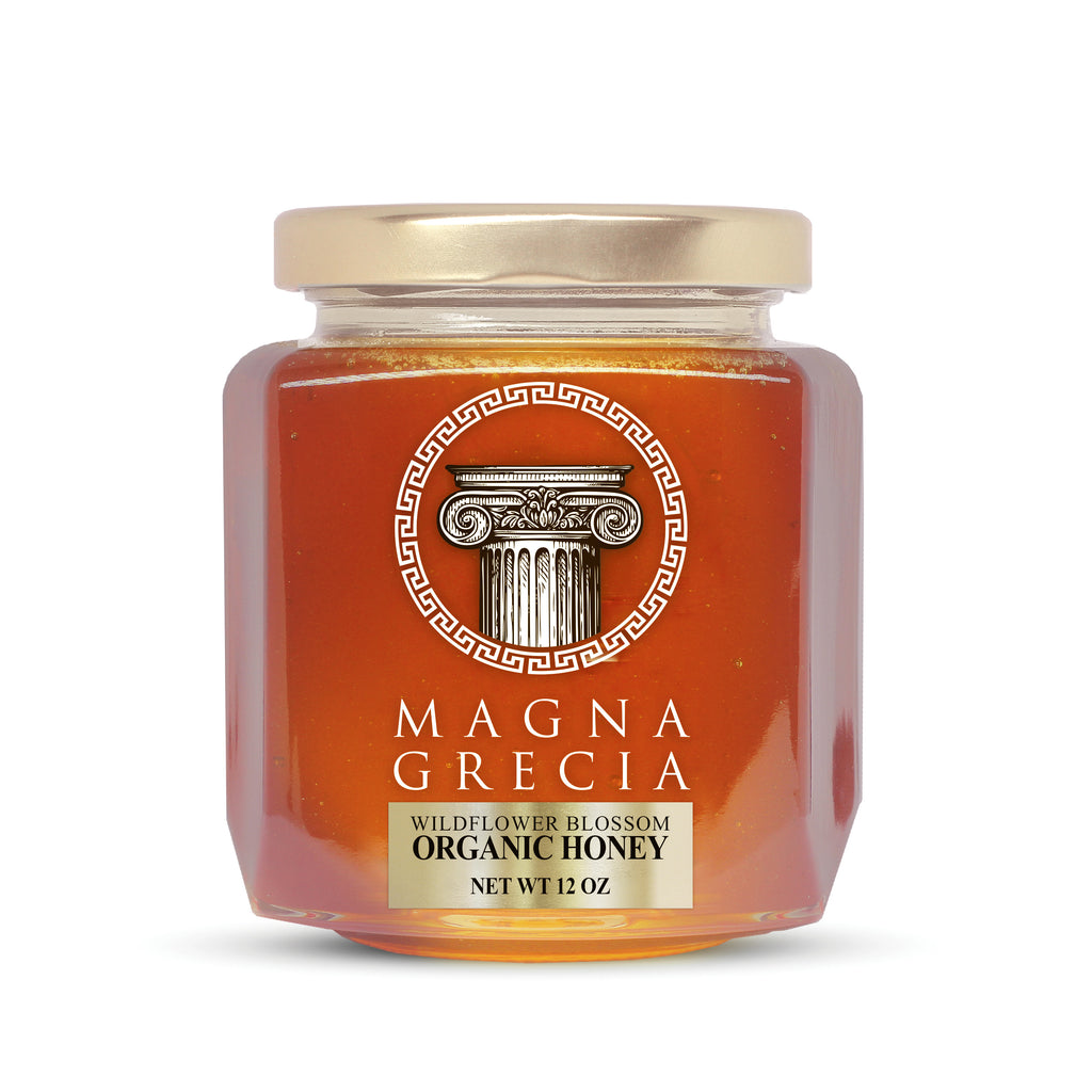 usda organic wildflower greek honey online from Greece