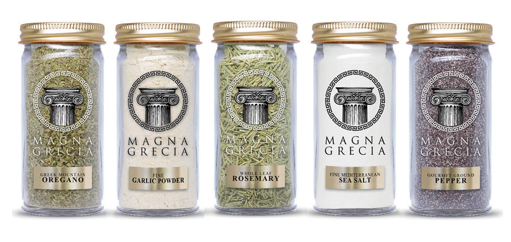 Greek herbs spices gift set
