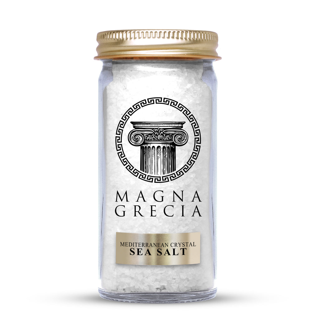 Mediterranean Coarse Crystal Sea Salt