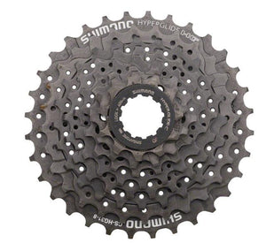 8 Speed Cassette: Shimano CS-HG31-8 Megarange 11-34T Fortified Bicycle