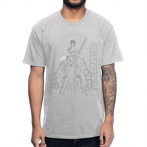 Sekiro Shadows Die Twice | The One-armed Wolf T-Shirt