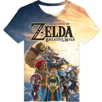 Zelda | The Legend of Zelda Breath of the Wild Champions T-Shirt