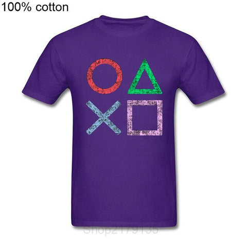 Playstation | Grunge Buttons T-shirt