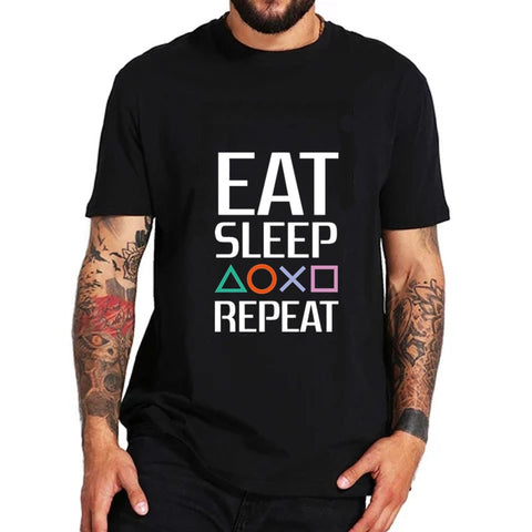 Eat Sleep Playstation Repeat T-shirt