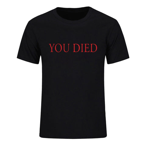 Dark Souls | Gaming You Died T-Shirt