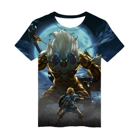 Zelda | The Legend of Zelda Breath of the Wild 3D T- shirt