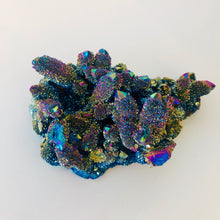 Load image into Gallery viewer, Aura Quartz Cluster (Titanium)