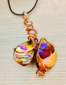 Abalone Shells Energy Wrap
