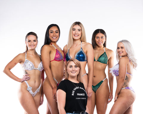 Accentuate Bikinis is NZ premier supplier of Competition Bikini Suits and Figure Suits