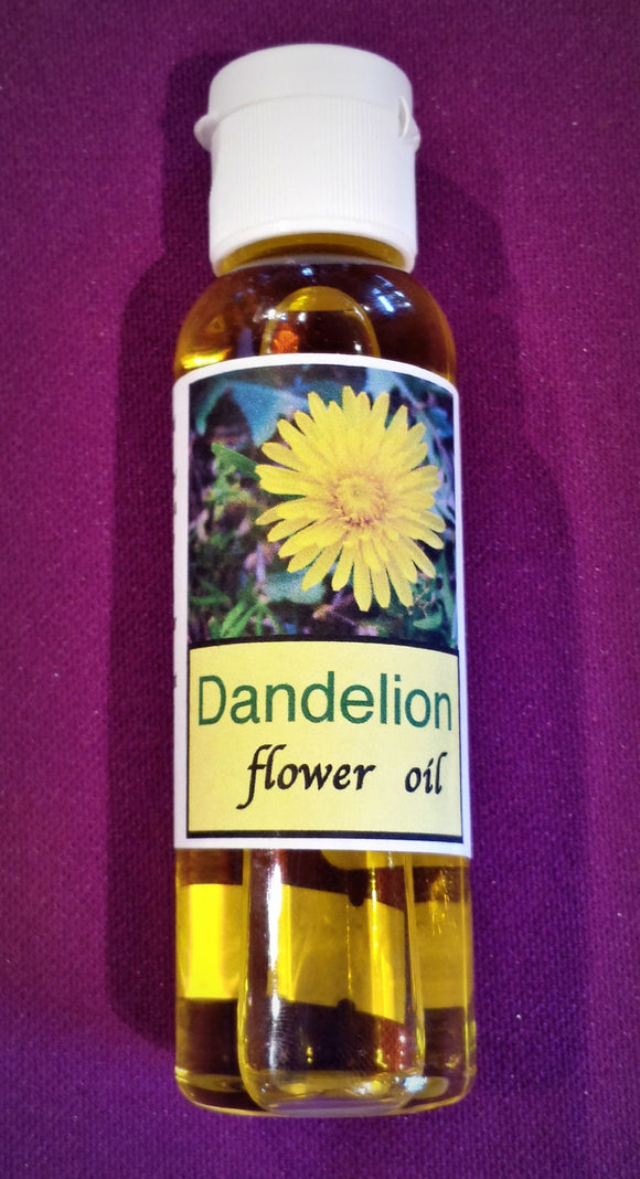 Dandelion Flower Oil