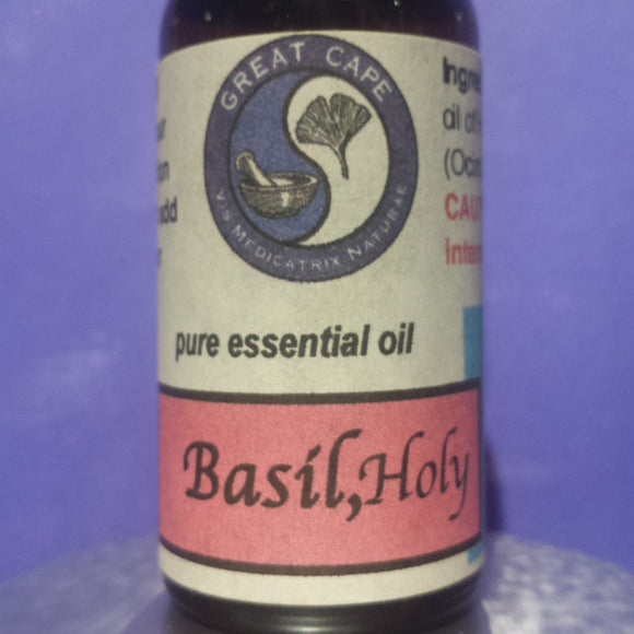 Basil, Holy Essential Oil