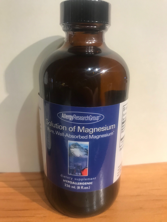 Solution of Magnesium