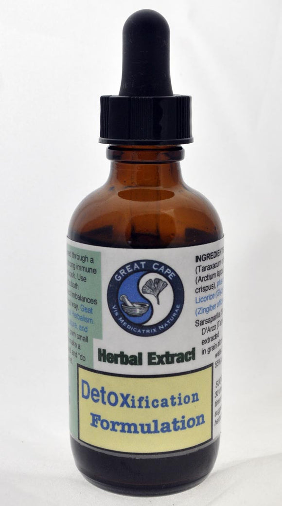 Detoxification Formulation Tincture