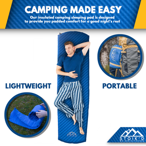 STOÏK'D Self Inflating Sleeping Pad