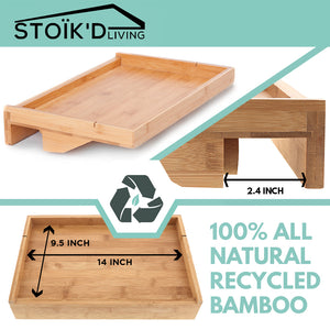 Bamboo Bed Shelf