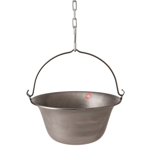 Plain Steel Cauldrons 4-28 litre