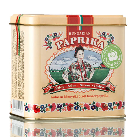 Sweet Ground Paprika in Metal Ornamental Box 100gr