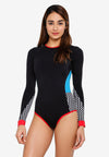 Paola Long Sleeve Swimsuit