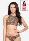 Tiani Scooped Back Crop Top