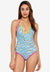 Mexicano - Adonia Twist Halter Swimsuit
