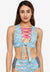 Mexicano - Ursula Tie Front Crop Top C2