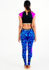 TRIBAL-F Crop Top With Sleeves