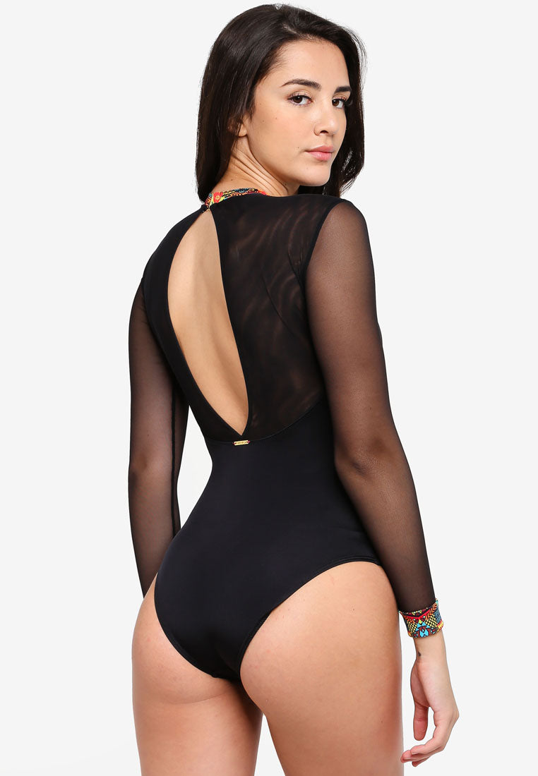 Kate Long Sleeve Swimsuit