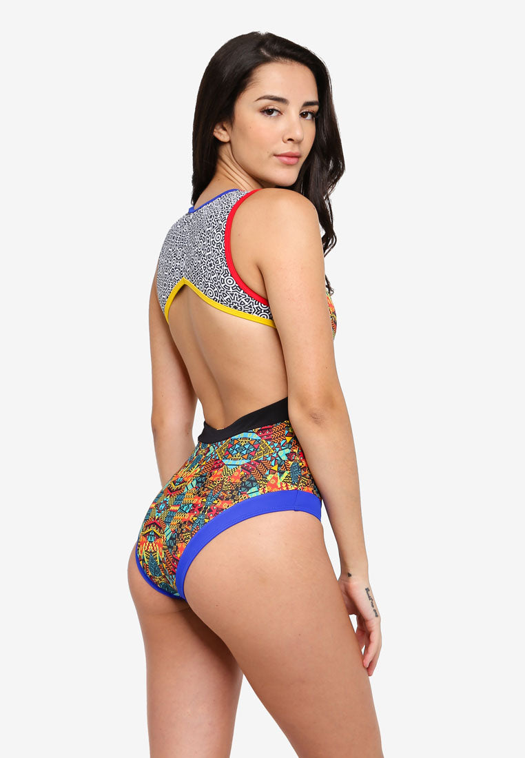 Makena Open Back Swimsuit